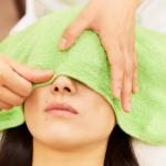 眼精疲労の施術